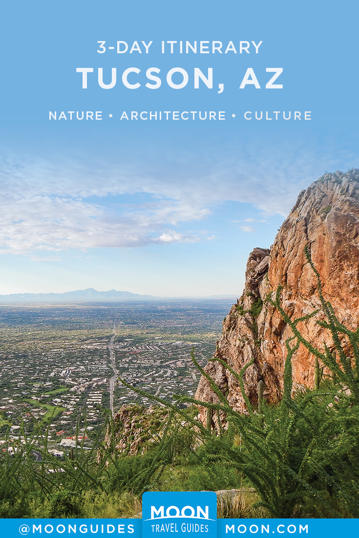Best of Tucson Itinerary Pinterest graphic