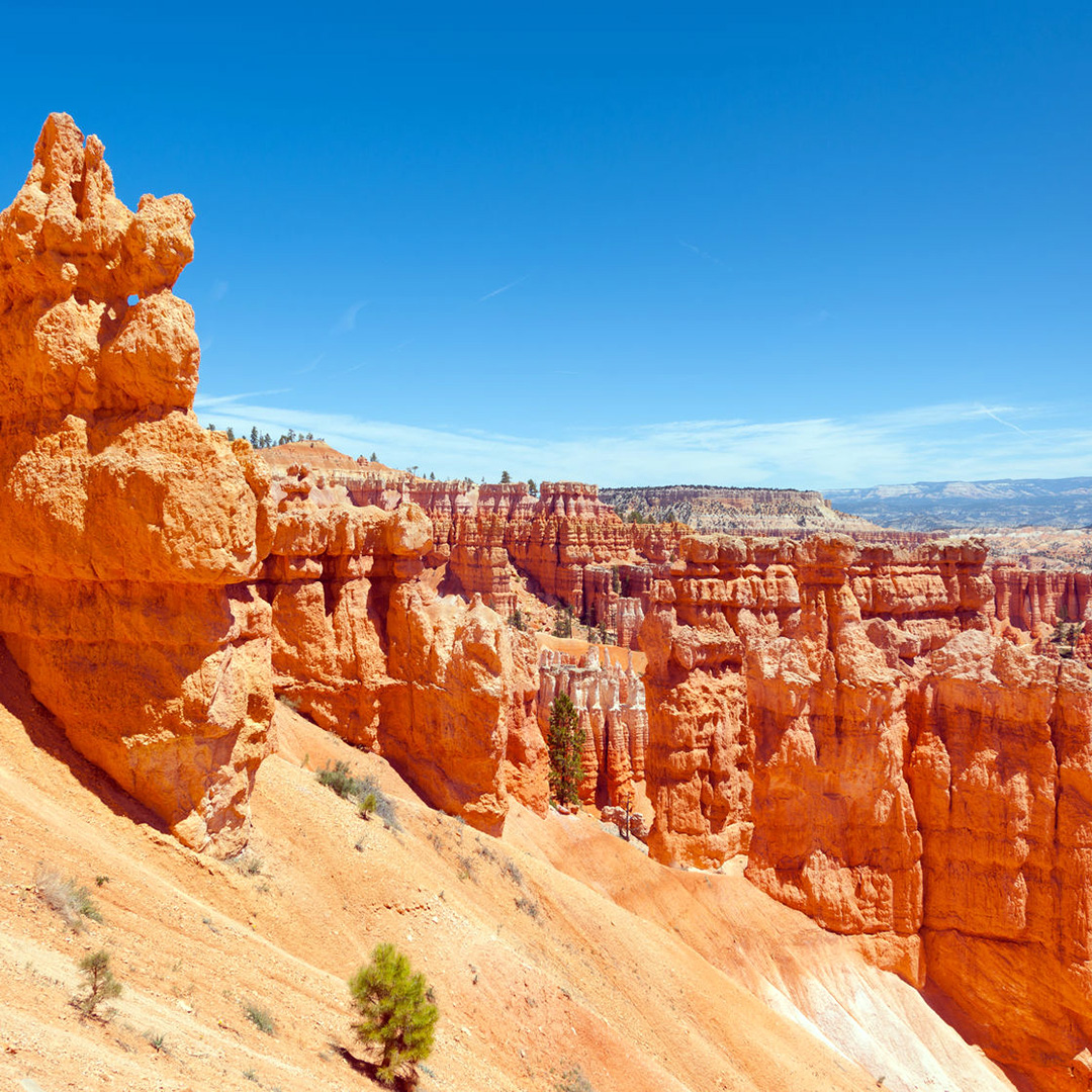 Along the Navajo Loop Trail in Bryce Canyon National Park.