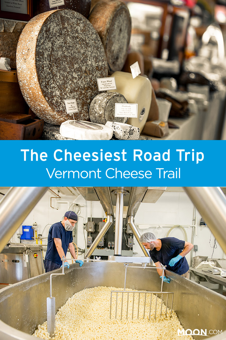 Take a road trip along the Vermont Cheese Trail: these eight classic New England towns offer some of the best wheels and wedges. #cheese #vermont #newengland