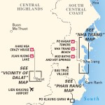 Travel map of The South-Central Coast of Vietnam