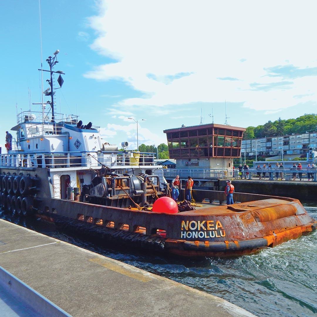 Nokea Honolulu ship