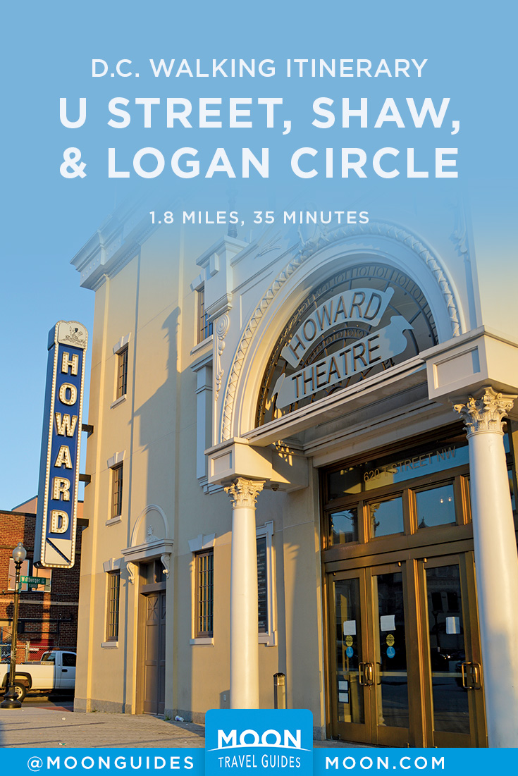 Self-Guided Walk in Washington DC: U Street, Shaw, and Logan
