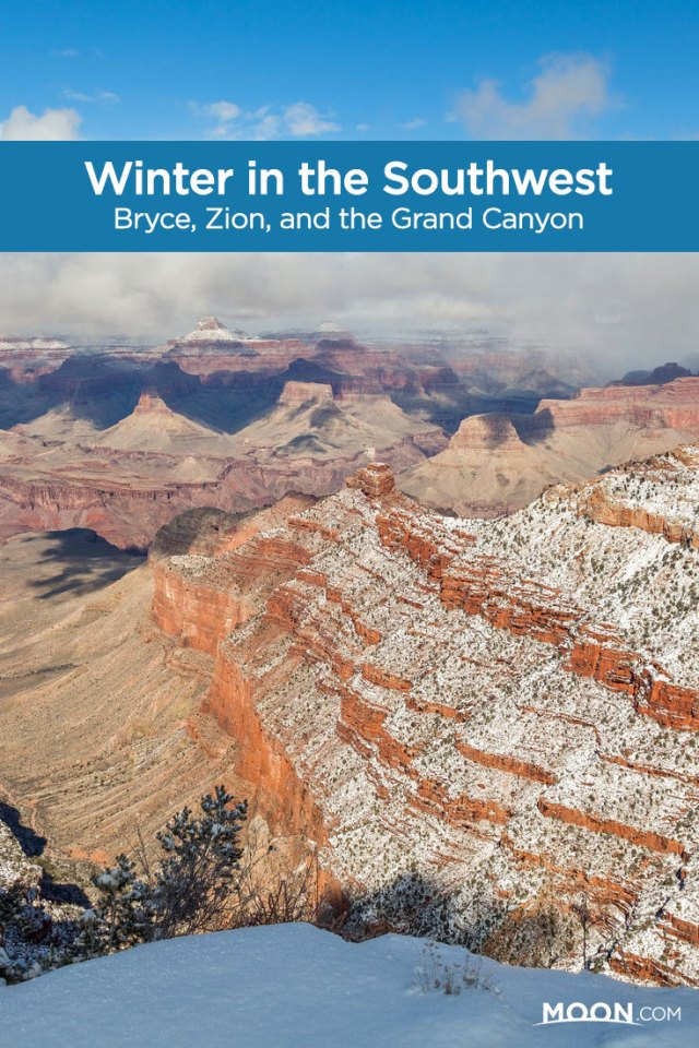 winter in southwest national parks