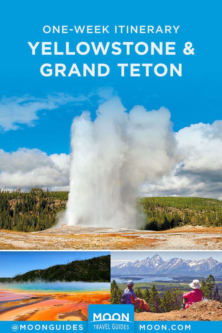 Yellowstone and Grand Teton Pinterest graphic