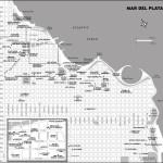 Map of Mar del Plata, Argentina