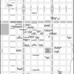 Map of Esquel, Argentina