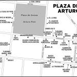 Map of Plaza de Armas Arturo Prat in Argentina