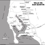 Map of Valle de San Quintin Mexico