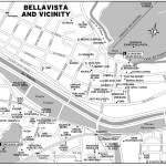 Map of Bellavista and Vicinity, Chile