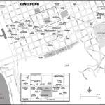 Map of Concepción, Chile