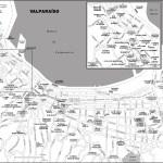 Map of Valparaíso, Chile