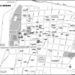 Map of La Serena, Chile