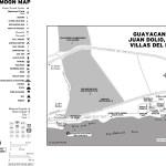 Map of Guayacanes, Juan Dolio, and Villas del Mar, Dominican Republic