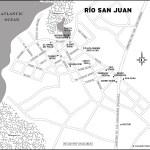 Map of Río San Juan, Dominican Republic