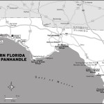 Map of Northern Florida and the Panhandle