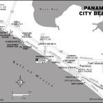 Map of Panama City Beach, Florida