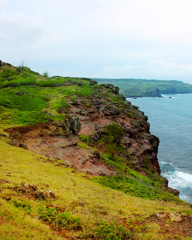 The Ohai Trail awards hikers with panoramic vistas of the island's North Shore.