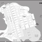 Map of Colón, Panama