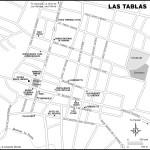 Map of Las Tablas, Panama