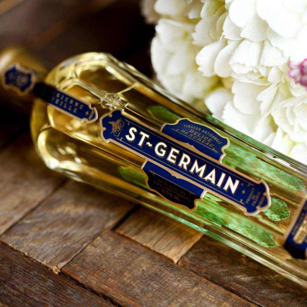 bottle of st. germain