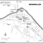 Map of Drumheller, AB