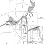 Map of Red Deer, AB