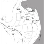 Map of Waterton Townsite, AB