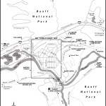 Map of Banff, AB and vicinity