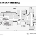 Map of West Edmonton Mall