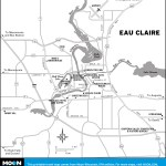 Map of Eau Claire, Wisconsin