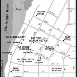 Map of Downtown La Crosse, Wisconsin
