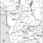 Map of Southwestern Wisconsin