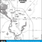 Map of Stevens Point, Wisconsin