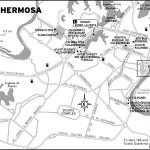 Map of Villahermosa, Mexico