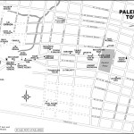 Map of Palenque Town, Mexico