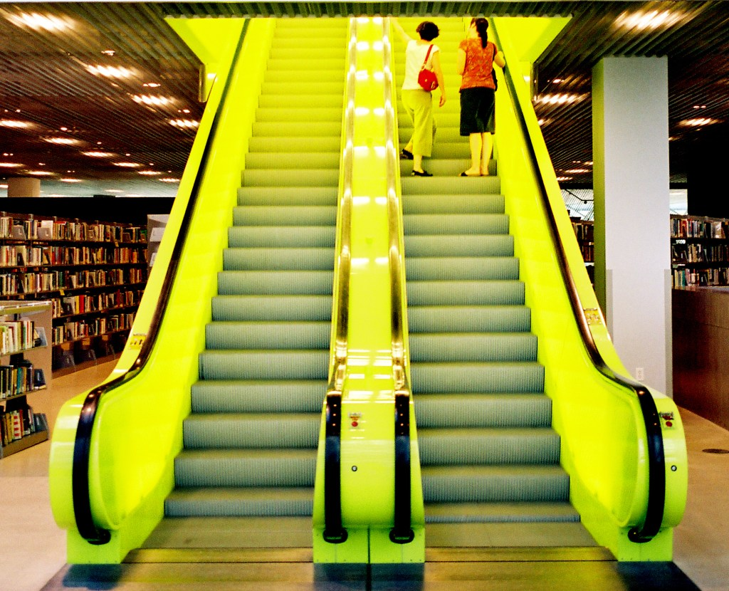 Seattle's Central Library.