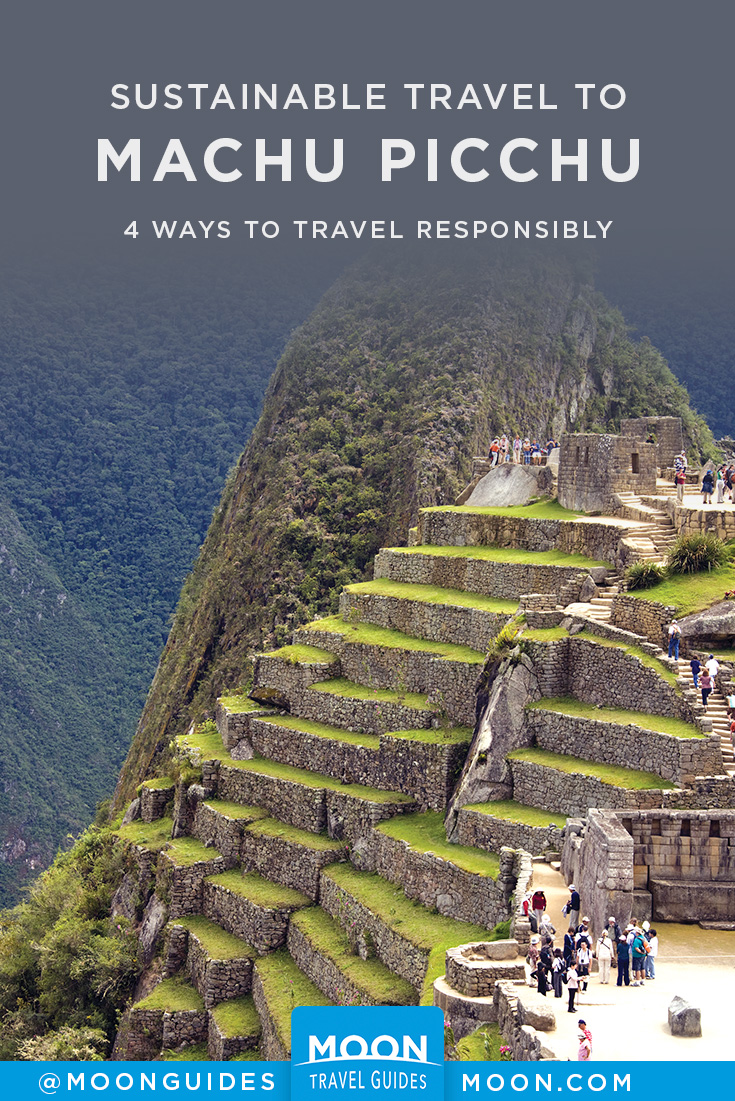 machu picchu responsible travel pinterest graphic