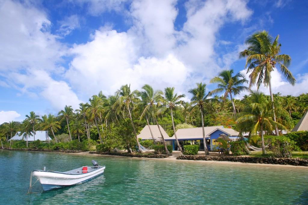 Tropical resort at Nananu-i-Ra island, Fiji
