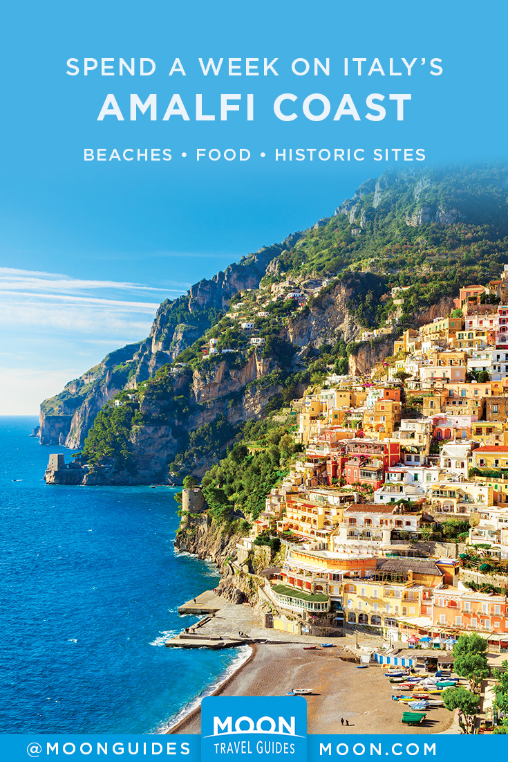 Best of Amalfi Coast pinterest graphic