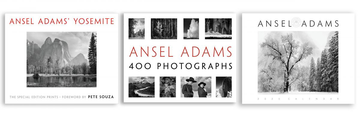 Ansel Adams Photography Books and 2020 Calendars