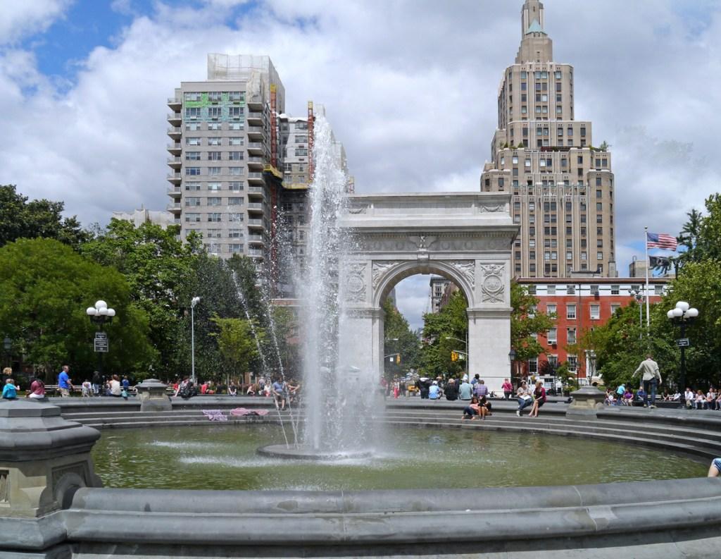 Washington Square Fountain, New York City