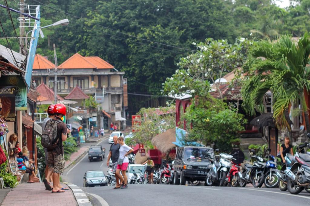 Ubud road