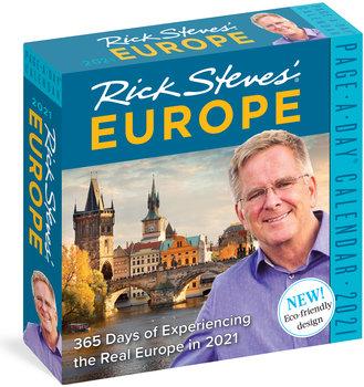 rick steves europe desk calendar