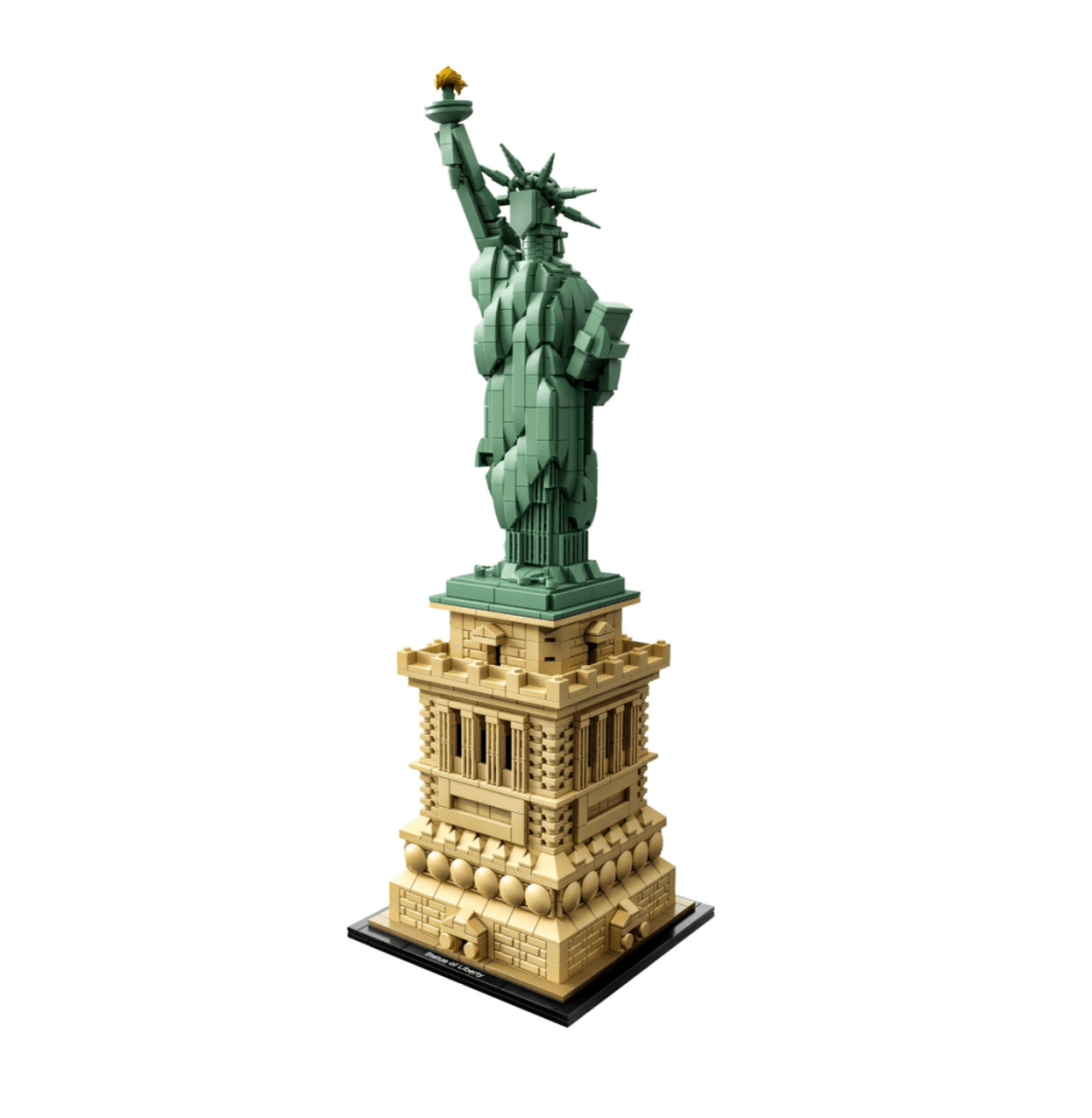 a photo of the LEGO Statue of Liberty Design