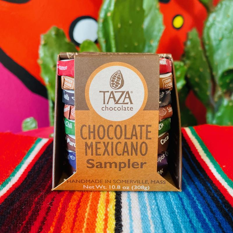 taza mexican chocolate sampler
