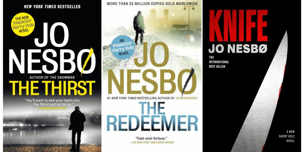 Best Jo Nesbo Harry Hole Books According to Goodreads_NovelSuspects