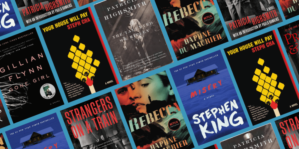 The Greatest Psychological Thriller and Suspense Books of All Time