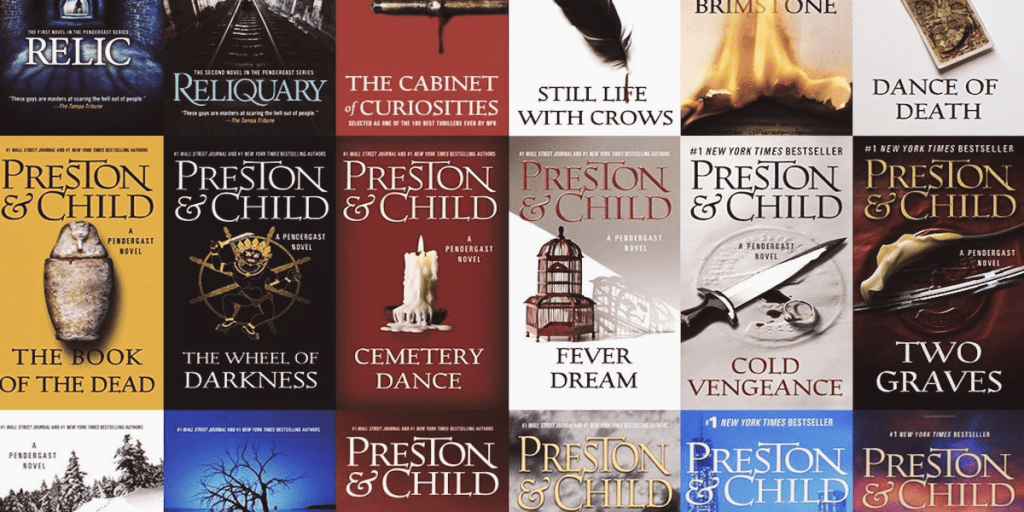 The Highest-Rated Books in Preston & Child's Pendergast Series
