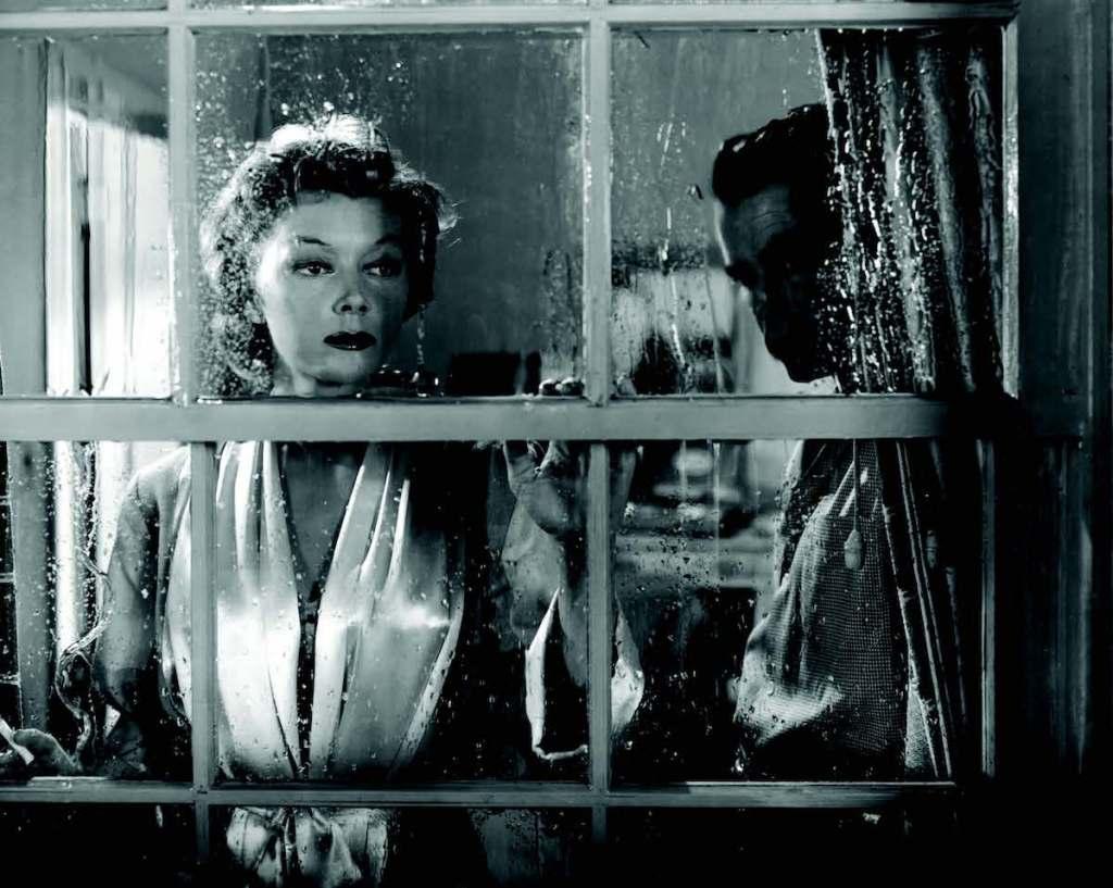 Gloria Grahame and Glenn Ford in Human Desire