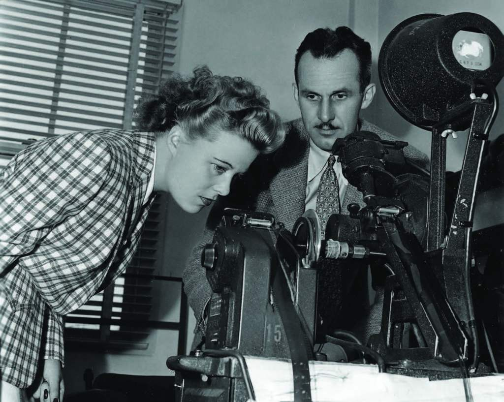 Hitchcock's one-time secretary, scenarist, and protégé Joan Harrison would become one of the essential producers of noir, both on the big screen and on television. Photo courtesy of the Film Noir Foundation.